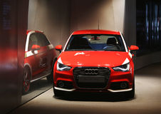 Audi A1,Exhibition Hall Royalty Free Stock Photo
