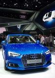 Audi A4 nos carros de IAA Imagem de Stock