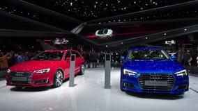 Audi A4 nos carros de IAA Imagens de Stock