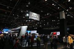 Audi 2018 novo na exposição na feira automóvel internacional norte-americana Imagens de Stock Royalty Free