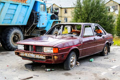 Audi 80 Royalty Free Stock Images