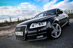 Audi A6 Royalty Free Stock Photos
