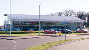 Audi official dealership in Bury St Edmunds, Stock Images