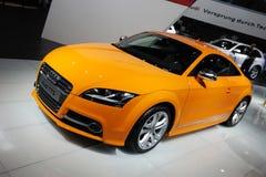 Audi orange tts photographie stock libre de droits