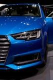 Audi A6 på Genève 2017 Arkivfoton