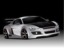 Audi personnalisé r8   illustration de vecteur