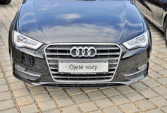 Audi A6 Royalty Free Stock Photography