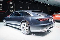 Audi prologu Avant pojęcie, Motorowy przedstawienie Geneve 2015 Zdjęcia Stock