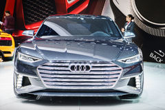 Audi prologu Avant pojęcie, Motorowy przedstawienie Geneve 2015 Obraz Royalty Free
