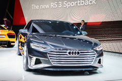 Audi Prologue Avant Concept, Motor Show Geneve 2015. Royalty Free Stock Photos