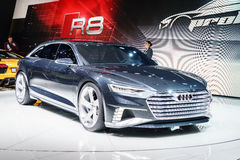 Audi Prologue Avant Concept motorisk show Geneve 2015 Royaltyfri Fotografi