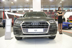 Audi przy Belgrade car show Obrazy Stock