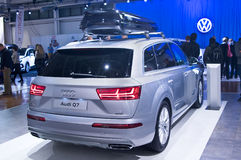 Audi Q7 Imagem de Stock Royalty Free