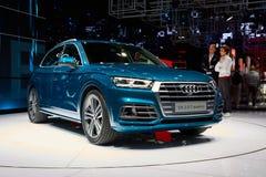 2017 Audi Q5 Royalty-vrije Stock Afbeelding