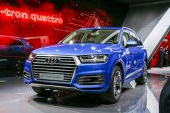 Audi 2015 Q7 e-Tron Fotografie Stock Libere da Diritti