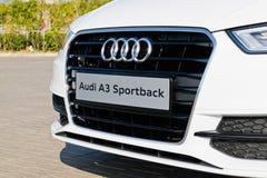 Audi Q3 Front Design 2015 Lizenzfreie Stockbilder