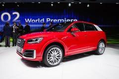 Audi Q2 in Geneva Stock Photo