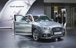 Audi Q3 Royalty Free Stock Photography