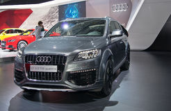 Audi Q7 Royalty Free Stock Photo
