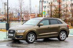 Audi Q3 Stock Photo