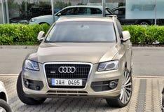 Audi Q7 quattro Royalty Free Stock Photo