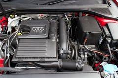 Audi Q3 Sedan 1.4 Ultra 2015 engine Stock Photos