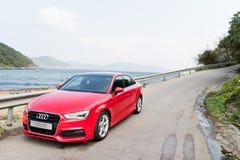 Audi Q3 Sedan 1.4 Ultra 2015 Test Drive Royalty Free Stock Photo
