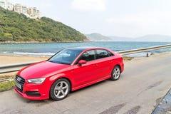 Audi Q3 Sedan 1.4 Ultra 2015 Test Drive Stock Image
