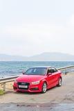 Audi Q3 Sedan 1.4 Ultra 2015 Test Drive Royalty Free Stock Image