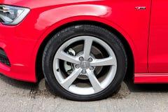 Audi Q3 Sedan 1.4 Ultra 2015 Wheel Royalty Free Stock Photos