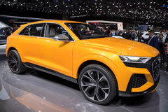 Audi Q8 sport concept car Stock Photography