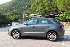 Audi Q3 SUV 2013 Model Stock Image