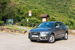 Audi Q3 SUV 2013 Model Stock Photos