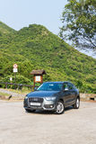 Audi Q3 SUV 2013 Model Stock Photography