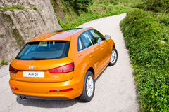 Audi Q3 2.0 SUV 2012 Royalty Free Stock Images