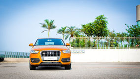 Audi Q3 2.0 SUV 2012 Stock Photo