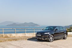 Audi Q7 3.0T Quattro 2014 Model Royalty Free Stock Images
