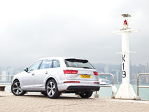 Audi Q7 2015 Test Drive Day Stock Image