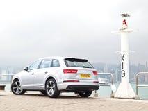 Audi Q7 2015 Test Drive Day Stock Image