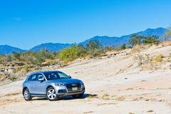 Audi Q5 2017 testa Prowadnikowy dzień Zdjęcia Royalty Free