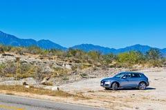 Audi Q5 2017 testa Prowadnikowy dzień Obraz Royalty Free
