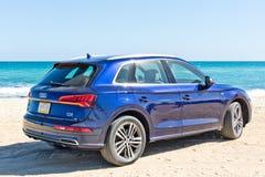 Audi Q5 2017 testa Prowadnikowy dzień Obrazy Royalty Free