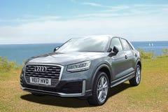 Audi q2 tfsi car Royalty Free Stock Photography