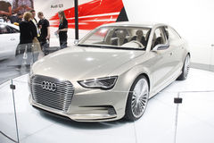 A Audi Q3 on display at Auto Expo 2012 Royalty Free Stock Photo