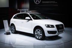 Audi Q5 an der MoskauInternationalausstellung Lizenzfreies Stockbild