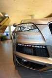 Audi Q7 luxury SUV at opening of Audi Centre Singapore Stock Photos