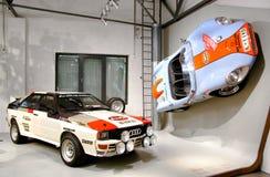 Audi Quattro και Colani GT Στοκ Φωτογραφία
