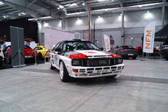 Audi Quattro Stock Photo