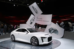 Audi Quattro Concept at Paris Motor Show Stock Photo