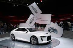 Audi Quattro Concept at Paris Motor Show Stock Photo